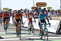 3rd September 2020; Le Teil to Mont Aigoual , France. Tour de France cycling tour, stage 6; Astana 2020, Bahrain - Mclaren Lopez Moreno, Miguel Angel Landa Meana, Mikel Mont Aigoual
