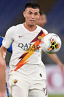 Roger Ibanez of AS Roma during the Serie A football match between AS Roma and Parma Calcio 1913 at Olimpico stadium in Rome ( Italy ), July 8th, 2020. Play resumes behind closed doors following the outbreak of the coronavirus disease. Photo Antonietta Baldassarre / Insidefoto