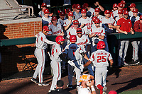The Arkansas Razorbacks won 6-5 over the Tennessee Volunteers on May 14, 2021, on Robert M. Lindsay Field at Lindsey Nelson Stadium in Knoxville, Tennessee. (Danny Parker/Four Seam Images)