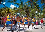 Dominikanische Republik, Punta Cana, Playa Bavaro, Animation, Merengue Unterricht am Strand | Dominican Republic, Punta Cana, Bavaro beach, animation, Merengue lesson at the beach