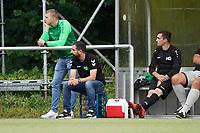 Trainer Bünyamin Bozkir (Stockstadt) - Rüsselsheim 22.08.2021: SV Alemannia Königstädten vs. SKG Stockstadt, Kreisliga A