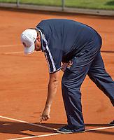 Simpeled, Netherlands, 19 June, 2016, Tennis, Playoffs Eredivisie Men, Umpire<br /> Photo: Henk Koster/tennisimages.com