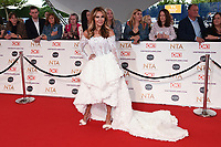 Lizzie Cundy<br /> arriving for the National Television Awards 2021, O2 Arena, London<br /> <br /> ©Ash Knotek  D3572  09/09/2021