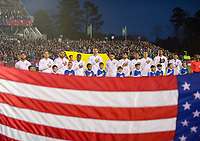 Cary, NC - March 27, 2018: The USMNT defeated Paraguay 1-0 during an international friendly at WakeMed Soccer Park.