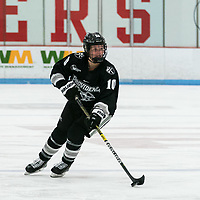 BOSTON, MA - JANUARY 11: Neve Van Pelt #10 of Providence College brings the puck forward during a game between Providence College and Boston University at Walter Brown Arena on January 11, 2020 in Boston, Massachusetts.