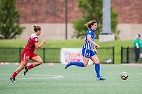 Boston, MA - Saturday July 01, 2017: Morgan Andrews during a regular season National Women's Soccer League (NWSL) match between the Boston Breakers and the Washington Spirit at Jordan Field.