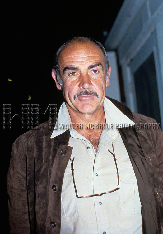 Sean Connery in the 1982.