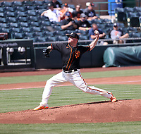 Jake McGee - San Francisco Giants 2021 spring training (Bill Mitchell)