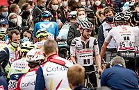 Marc Hirschi (SUI/Sunweb): winner of the 84th La Flèche Wallonne 2020 (1.UWT)<br /> <br /> 1 day race from Herve to Mur de Huy (202km/BEL)<br /> <br /> ©kramon