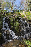 Europe/France/Normandie/Basse-Normandie/50/Manche/Mortain: la Petite Cascade, sur le Cançon, //  France, Manche, Mortain, The small  waterfall