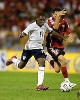 Freddy Adu, 2010 FIFA World Cup qualifying.U.S. Men vs. Trinidad & Tobago.Hasely Crawford Stadium.Port of Spain, Trinidad.October 14, 2008.Trinidad and Tobago 2, USA 1
