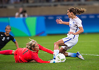 Belo Horizonte, Brazil - August 3, 2016: The USWNT defeated New Zealand 2-0 during their first group game at the 2016 Olympics at Mineirao Stadium.