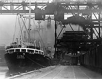 Ship at Port Covington, Western Maryland Docks, Baltimore, Maryland