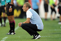 Philadelphia, PA - June 11, 2016: USA manager Jurgen Klinsmann during a Copa America Centenario Group A match between United States (USA) and Paraguay (PAR) at Lincoln Financial Field.