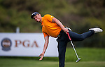 Simon Zach of Czech Republic in action during day 3 of the 9th Faldo Series Asia Grand Final 2014 golf tournament on March 20, 2015 at Faldo course in Mid Valey Golf Club in Shenzhen, China. Photo by Xaume Olleros / Power Sport Images