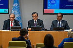 Press briefing on the launch of the World Economic and Social Survey 2018<br /> <br /> Speakers:<br /> <br /> Mr. Liu Zhenmin, USG for Economic and Social Affairs<br /> Mr. Hamid Rashid, Chief, Development Research Branch, Economic Analysis and Policy Division, Department of Economic and Social Affairs (EAPD/DESA)