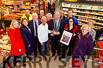 The presentation of the Gold Medal for the Supervalu Tidy Towns presented to the Tidy Tralee Together in Garveys Supervalu on Monday.<br /> Front l to r: Jean Foley (KCC), Fiona Mullins (Chairperson Tralee Tidy Towns), Tim Guiheen (Tidy Tralee Together), Cllr: Sam Locke, Cllr Jim Finucane (Mayor of Tralee), Sandra Lynch (Garveys Supervalu), Mary O'Brien and Amber Moriarty (GarveysSupervalu).<br /> Back l to r: Colm Nagle (KCC), Henry Lowe (Friends Enable), Joe Moynihan (Tralee Tidy Together), Martin Daly (Friends Enable) and Billy Walsh.