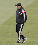 Real Madrid's coach Carlo Ancelotti during training session.January 30,2015.(ALTERPHOTOS/Acero)