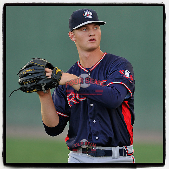#OTD On This Day, August 31, 2016, Mike Soroka of the Rome Braves struck out nine in seven innings, giving up just three hits and one run to pick up his ninth win of the season in a game against the Greenville Drive at Fluor Field at the West End in Greenville, South Carolina. Rome won, 9-1. Soroka was called up to Atlanta in 2018 and became the team's ace in 2019 with a 13-4 record and an All-Star Game selection. In 2020 he made three appearances for the Braves before tearing his right achilles tendon. (Tom Priddy/Four Seam Images) #MiLB #OnThisDay #MissingBaseball #nobaseball #stayathome #minorleagues #minorleaguebaseball #Baseball #SallyLeague #AloneTogether