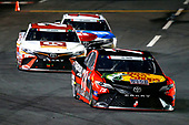 Monster Energy NASCAR Cup Series<br /> Coca-Cola 600<br /> Charlotte Motor Speedway, Concord, NC USA<br /> Sunday 28 May 2017<br /> Martin Truex Jr, Furniture Row Racing, Bass Pro Shops/TRACKER BOATS Toyota Camry, Matt Kenseth, Joe Gibbs Racing, Circle K Toyota Camry, Kyle Busch, Joe Gibbs Racing, M&M's Red, White & Blue Toyota Camry<br /> World Copyright: Lesley Ann Miller<br /> LAT Images