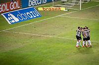 Belo Horizonte (MG) 07/07/21 - Atlético-MG-Flamengo -Gol de Savarino - Partida entre Atlético-MG e Flamengo , válida pela décima rodada do Campeonato Brasileiro no Estadio Mineirão em Belo Horizonte nesta quarta feira (07)