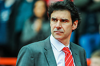Nottingham Forest's manager Aitor Karanka during the Sky Bet Championship match between Nottingham Forest and Derby County at the City Ground, Nottingham, England on 10 March 2018. Photo by Stephen Buckley / PRiME Media Images.