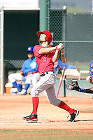 Randal Grichuk, Los Angeles Angels 2010 minor league spring training..Photo by:  Bill Mitchell/Four Seam Images.