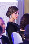 Spanish Queen Letizia attends the Expansion newspaper 30th anniversary at the Palace Hotel, Madrid.  February 7th 2017. (ALTERPHOTOS/Rodrigo Jimenez)