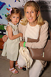 Bonner Ball with her granddaughter Margaret Brown,3, at the MD Anderson Children's Cancer Hospital, Bunny Hops and Photo Ops at The Galleria Saturday March 21,2016.(Dave Rossman Photo)