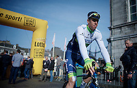 Matthew Hayman (AUS/Orica-GreenEDGE) to the start<br /> <br /> 50th Amstel Gold Race 2015