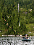 Monogram Lake Hike and Fishing Images