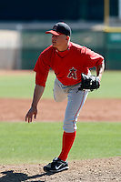 Christian Scholl - Los Angeles Angels - 2009 spring training.Photo by:  Bill Mitchell/Four Seam Images