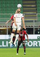 Milano 12-05 2021<br /> Stadio Giuseppe Meazza<br /> Serie A  Tim 2020/21<br /> Milan - Cagliari<br /> Nella foto:    Pavoletti                                  <br /> Antonio Saia Kines Milano