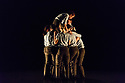 """Leeds, UK. 28.11.2018. Second Year students of BA (Hons) Dance (Contemporary), at the Northern School of Contemporary Dance, present NEW GROUND, in the RIley Theatre. This piece is: """"Left Unseen"""" by choreographer Amaury Lebrun. The dancers are: Alice Bowen, Anastasia Sheldon, Cheryl Him, Elizabeth Maguire, Josephine Norburn, Kitty Denton, Rose Lewis, Reynaldo Santos, William English. Photograph © Jane Hobson."""