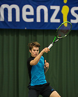 Rotterdam, The Netherlands, March 20, 2016,  TV Victoria, NOJK 14/18 years, Ryan Nijboer (NED)<br /> Photo: Tennisimages/Henk Koster