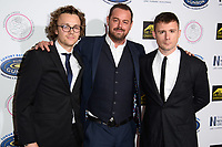 Ted Reilly, Danny Dyer and Danny-Boy Hatchard<br /> at the Paul Strank Charitable Trust Annual Gala 2018, London<br /> <br /> ©Ash Knotek  D3435  22/09/2018