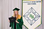 Evans, Erin  received their diploma at Bryan Station High school on  Thursday June 4, 2020  in Lexington, Ky. Photo by Mark Mahan Mahan Multimedia