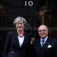 17.02.2017 - The French Prime Minister Bernard Cazeneuve at 10 Downing Street