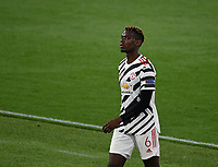 Football: Uefa Europa League - semifinal 2nd leg AS Roma vs Manchester United Olympic Stadium. Rome, Italy, May 6, 2021.<br /> Manchester United's Paul Pogba looks on during the Europa League football match between Roma and Manchester United at Rome's Olympic stadium, Rome, on May 6, 2021.  <br /> UPDATE IMAGES PRESS/Isabella Bonotto