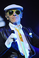 Laroche Valmont lors de la tournÈe 'Stars 80, 10 ans dÈj‡ !' au Palais Nikaia ‡ Nice, le samedi 18 mars 2017. # TOURNEE 'STARS 80 - 10 ANS DEJA !' A NICE