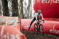 cx world champion Ceylin del Carmen Alvarado (NED/Alpecin-Fenix) on her way to winning the 2021 UCI CX World Cup in Overijse (BEL)<br /> <br /> Vlaamse Druivencross<br /> <br /> Women's Race<br /> <br /> ©kramon