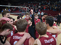 Stanford Volleyball M vs BYU, March 2, 2019