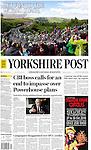 Yorkshire Post <br /> <br /> Front Page<br /> Page 1<br /> <br /> Return to the World Stage<br /> <br /> 2019 UCI Road World Championships<br /> <br /> <br /> Tour de France Grand Depart<br /> Grinton Moor 2014