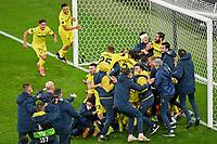 Villarreal players celebrate winning the final after penalty shootout <br /> Gdansk 26/05/2021<br /> Europa League Final <br /> Villarreal Vs Manchester United<br /> Photo Lukasz Laskowski / PressFocus / NEWSPIX.PL  Imago/Insidefoto