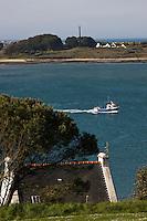 Europe/France/Bretagne/29/Finistère/L'Aber Wrac'h: Vue sur l 'Aber depuis le sémaphore