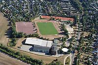 Deutschland..Schleswig- Holstein..Glinde..Sportplatz..Sportanlage..Am Sportplatz..Tages und Begegnungsstätte Glinde Nord..Sportlerheim