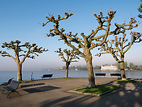 Blick auf Hotel Steigenberger, Uferpromenade von Konstanz, Baden-Württemberg, Deutschland, Europa<br /> Hotel Steigenberger, seen from lakeside promenade, Constance, Baden-Württemberg, Germany, Europe