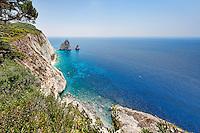 Mizithres in Zakynthos island, Greece