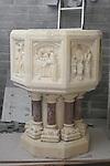 Baptismal font at Caffreys Monumentals