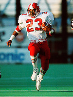 Keyvan Jenkins Calgary Stampeders running back 1991. Photo copyright Scott Grant